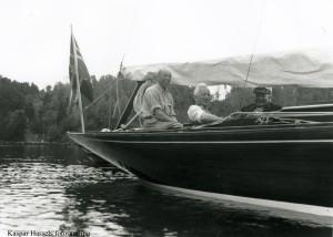 Seilere i puscockpiten ca 1925